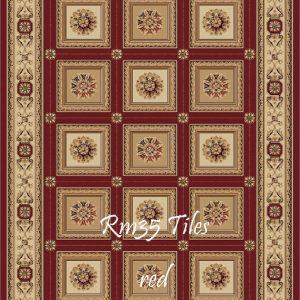 RUMI-35 Tiles Red