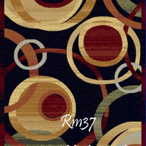 RUMI-37 Loops Black Multi