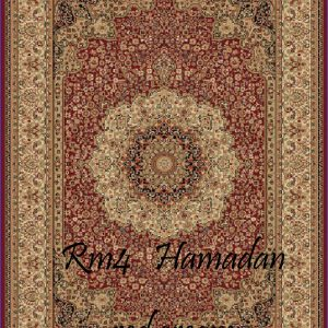 RUMI-4 Hamadan Red Cream