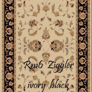 RUMI-6 Ziggler Ivory Black