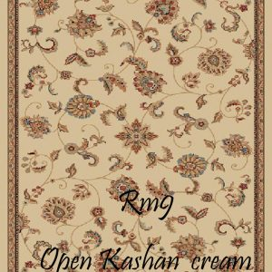 RUMI-9 Open Kashan Cream