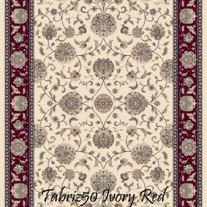 HAFIZ ENCORE-Tabriz 50 Ivory Red